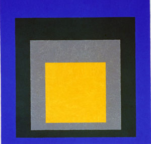 Joseph Albers, *Homage to the Square: Aurora* (1951-55)