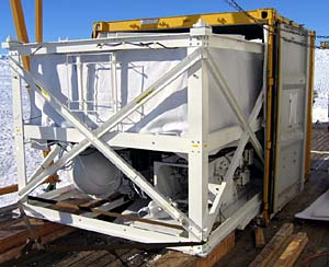 The Trans-Iron Galactic Element Recorder (TIGER)  at the McMurdo base in Anarctica.