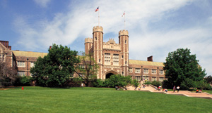 Brookings Hall, east facade