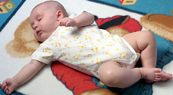 According to researchers, babies should always sleep on their backs.