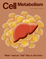 Copertina del numero di maggio 2005 del metabolismo cellulare