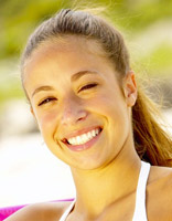 Sunlight allows the body to produce vitamin D, which is good for teeth and bones.