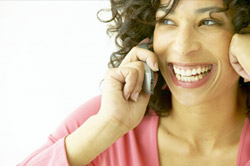 The electromagnetic radiation produced by cell phones doesn't stress human cells.
