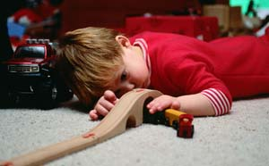 Toys that allow children to come up with their own play scenarios rather than ones that aim for a specific outcome are good gift ideas for the holidays.