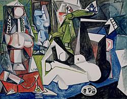 Pablo Picasso, *Les Femmes d'Alger*