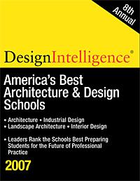 Graduate school of architecture urban design ranked 6th for Architecture design company ranking