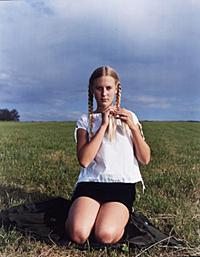 Collier Schorr, *Lina, Opening Braid, Bettringen*