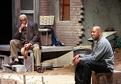 Ron Himes (right) and A.C. Smith in The Black Rep's 2006 production of August Wilson's *King Hedley II.*