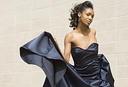 Ball gown by Lauren Edelstein