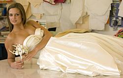 Wedding gown by Yehua Yang.