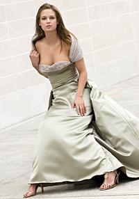 Ball gown by Kristi Gu