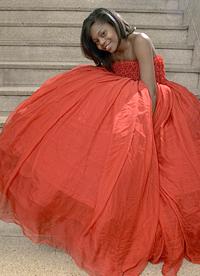 Ball gown by Jordana Warmflash