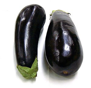 Plants on extrasolar planets resembling Earth could be as black as these eggplants.  Scientists who speculate on plant life and what might constitute photosynthesis