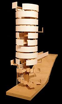 Observation pavilion by John Kleinschmidt
