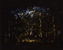 Narcisse Virgile Diaz de la Peña, *Wood Interior* (1867).