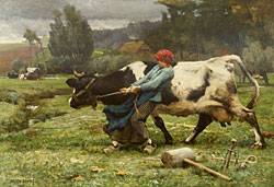 Julien Dupré, *Haying Scene* (1882).