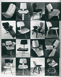 Charles and Ray Eames, prototype plywood chairs