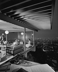 Julius Shulman, photograph of Case Study House #22