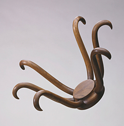 Marcel Duchamp, *Hat Rack*