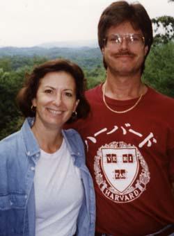 Copeland and husband Richard Ruby