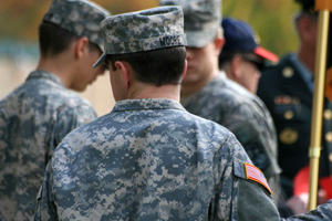 Military service changes personality