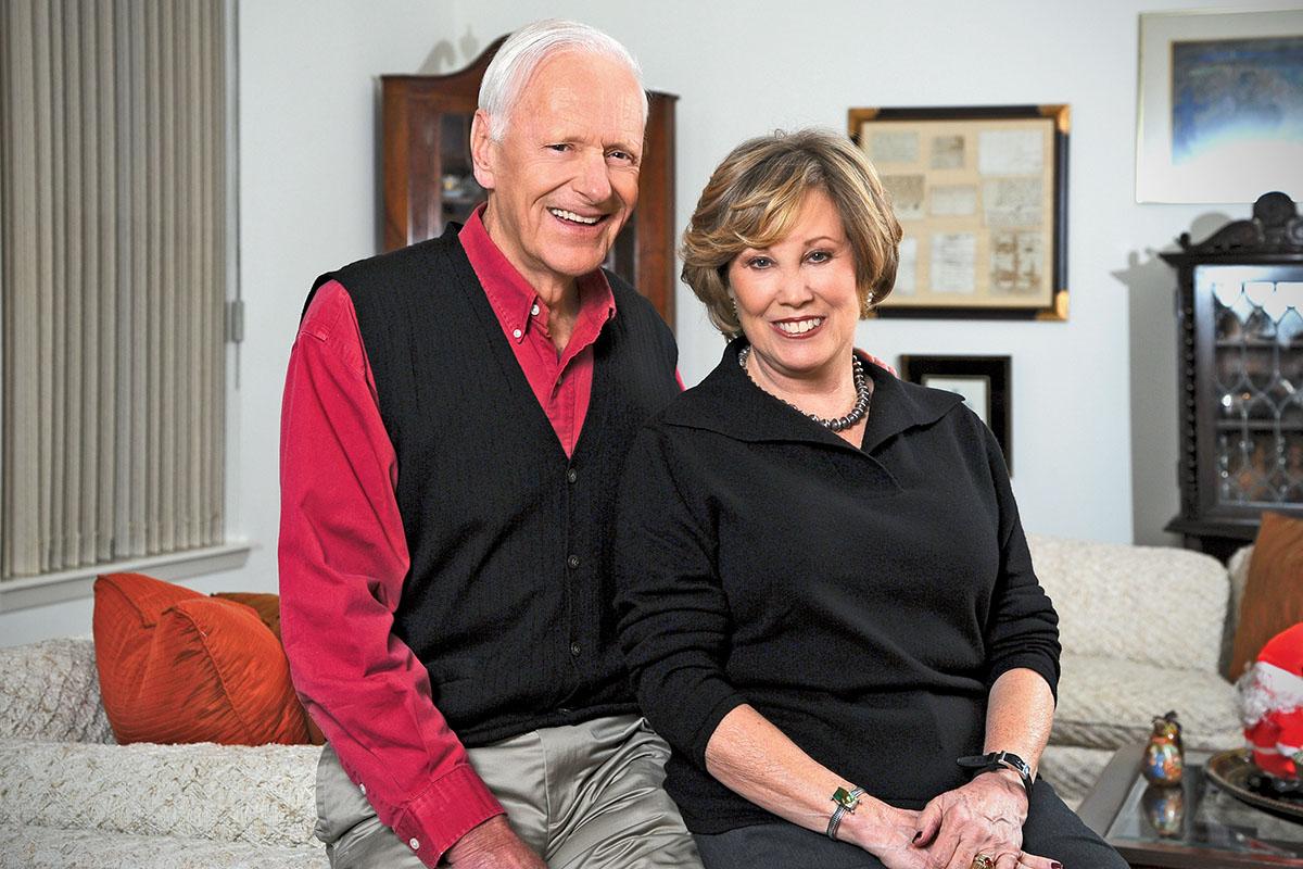 Ed and Pamela deZevallos