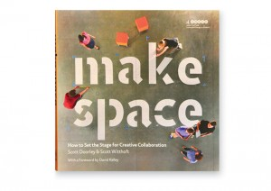 In Make Space: How to Set the Stage for Creative Collaboration, Scott Witthoft, BSCE '99, and co-author Scott Doorley aim to share their efforts in designing collaborative spaces beyond the labs at Stanford University's d.school.