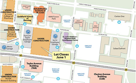 Garage Slated For Medical Campus Employee Parking Shifting East