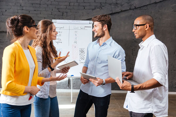 Get up! New research shows standing meetings improve creativity and teamwork