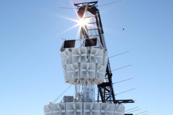 ANITA III launched over Antarctica