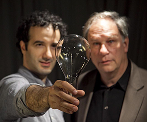 Radiolab hosts Jad Abumrad (left) and Robert Krulwich bring their innovative ideas to Washington University Feb. 26 for the Assembly Series and Ampersand Week.