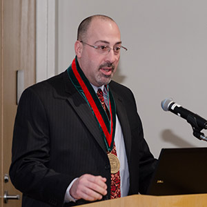 James DuBois, DSc, PhD, recently was installed as the Steven J. Bander Professor of Medical Ethics and Professionalism.