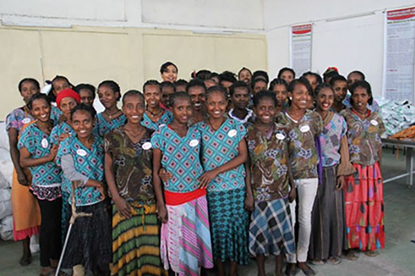 Lewis Wall helps tackle problem of Ethiopian girls lacking sanitarypads
