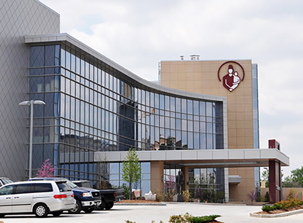 Shriners Hospitals for Children-St. Louis will open at its new site on the Washington University Medical Center campus Monday, June 1. (Credit: Shriners Hospitals for Children)