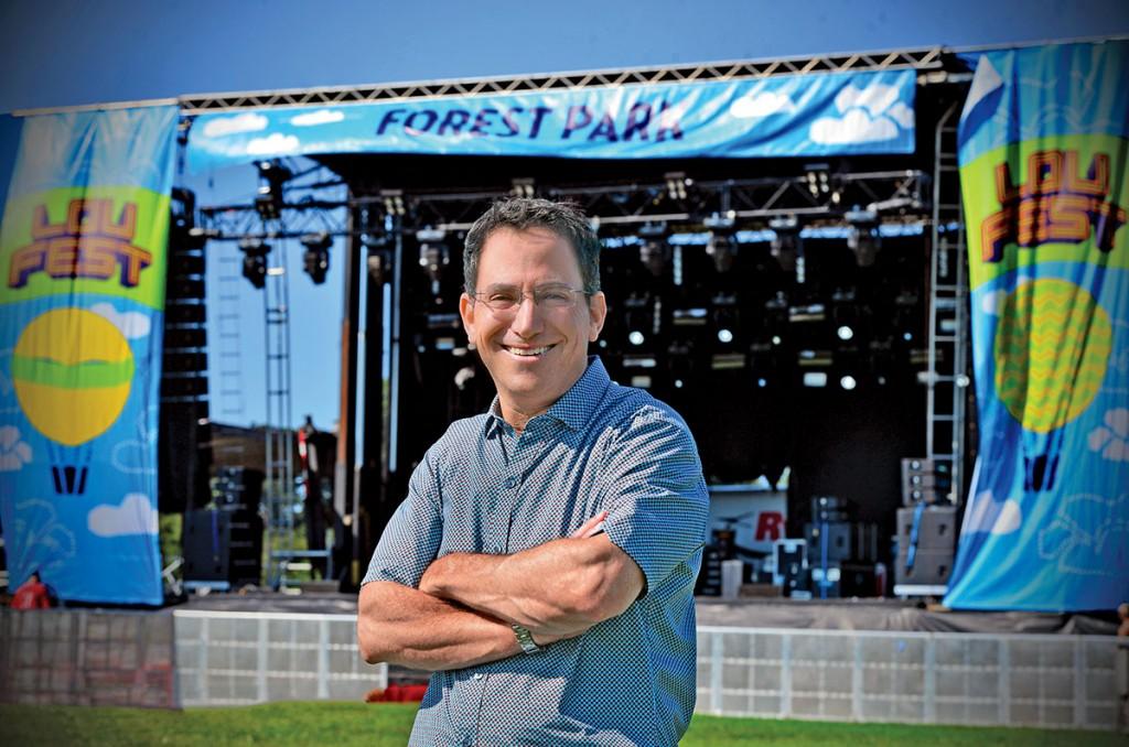 09.05.14 - Brian Cohen, founder of LouFest. James Byard / WUSTL Photos