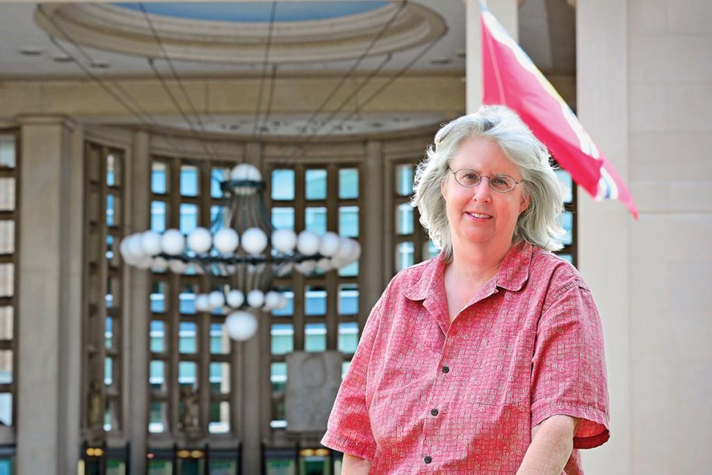 07.23.2014 - Sue Greenberg, Company Manager for The Muny. James Byard/ WUSTL Photos
