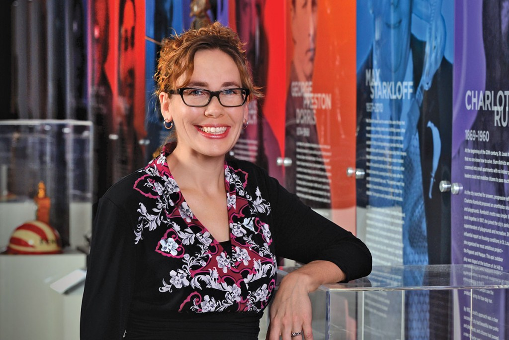 08.08.2014 - Katherine Van Allen, Managing Director of Museum Services for the Missouri History Museum. James Byard/ WUSTL Photos