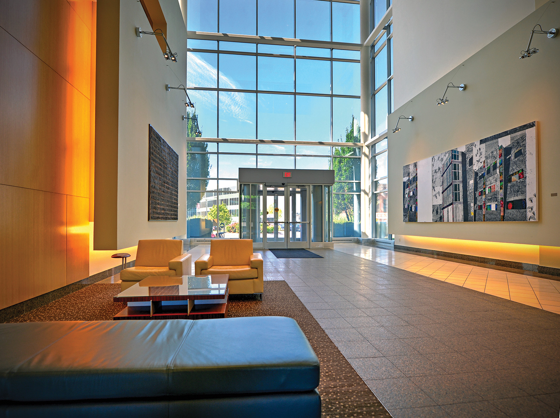 07.08.2014 -A view of the Cortex building at 4320 Forest Park Avenue. James Byard/ WUSTL Photos
