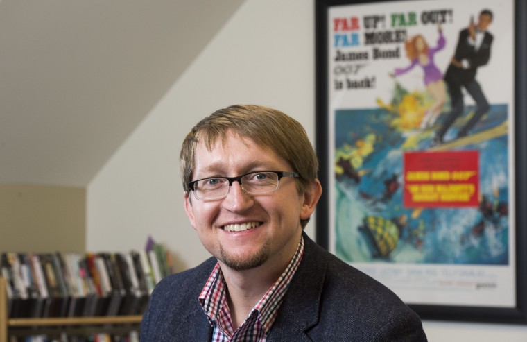 Colin Burnett, assistant professor of film & media studies