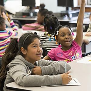11.10.2015--Dr. Karessa Morrow, Principal, at Oak Hill Elementary School.Photo by Joe Angeles/WUSTL Photos