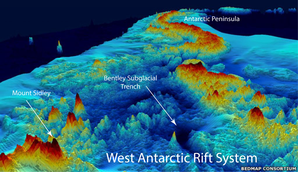 West Antarctica without ice