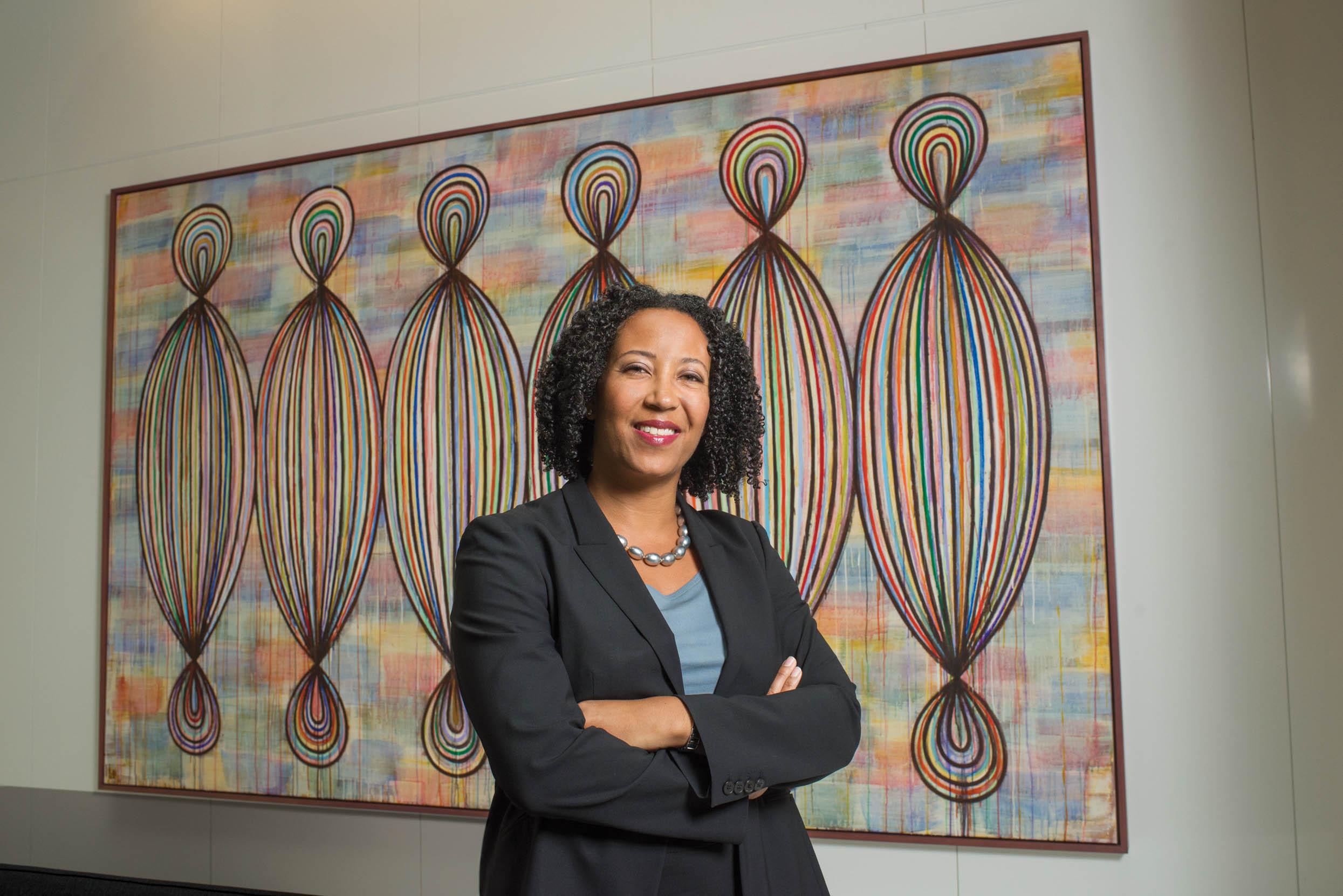 Dora Hughes, MD, MPH at Sidley Austin in DC.
