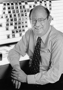Herbert Weitman at work