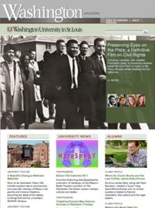 Washington Magazine, August 2011
