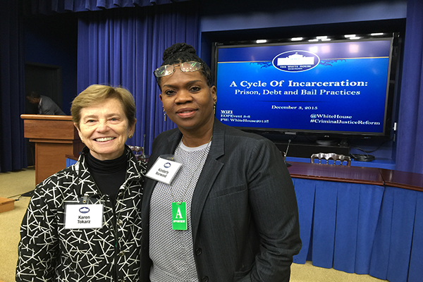 Norwood, Tokarz attend White House conference on incarceration​