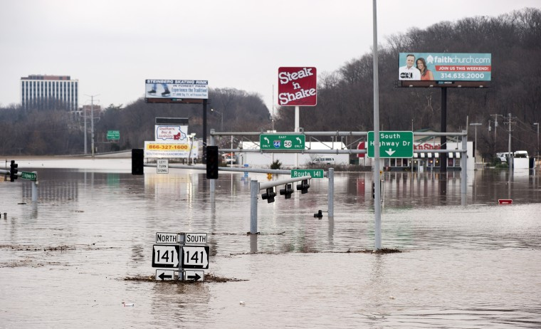 Record Missouri flooding was manmade calamity, scientist