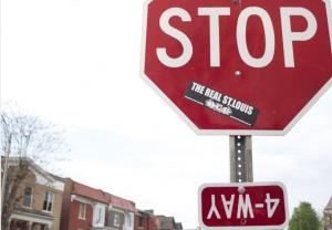 St. Louis Stop sign