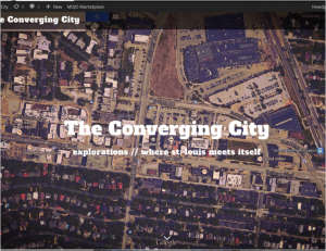 The Converging City homepage