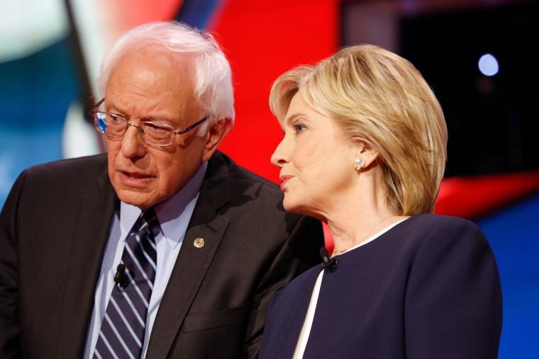 Bernie Sanders-Hillary Clinton