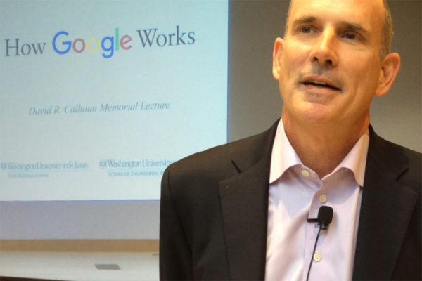 Former Google vice president Jonathan Rosenberg.
